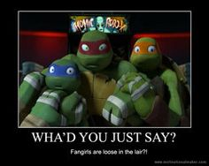 """I be the first to hug Raph!! GET OUTA MY WAY!!!! MOVE IT !!!! """"HEY RAPHIE"""" :D"""