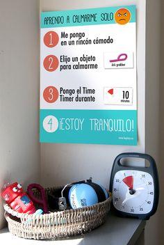 ¿Tienes un alumno con un carácter difícil? ¿Tu hijo coge unas rabietas difíciles de gestionar? Hemos preparado un póster para enseñar al niño a autogestionarse, a identificar sus emociones y ayudarle a calmarse solo. Descárgate este póster y complétalo con materiales anti-estrés como los fidgets, o materiales para que gestione su tiempo como Time Timer [&hellip
