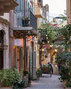Exploring the streets of Chania / Crete / Greece