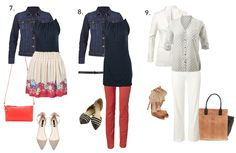A Fresh Look at 15 items for 30 Days of Spring Fashion! - CAbi Spring 2014 Collection  looks 7-9     kellygirl.cabionline.com