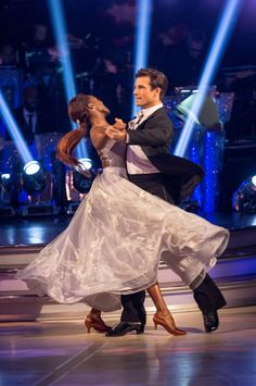 SCD week 2, 2016. Danny Mac & Oti Mabuse. Vienniese Waltz. Credit: BBC / Guy Levy