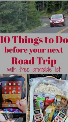 Road trip tips, hacks and essentials for long car rides with kids! Includes a free printable checklist for getting the car ready for the trip, car trip games, road trip snacks and fun activities to keep kids busy on the road. Snacks Road Trip, Road Trip Activities, Travel Snacks, Road Trip Games, Fun Activities, Road Trip Checklist, Road Trip Packing, Road Trip Essentials, Road Trip Tips