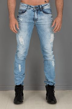 Jeans claro.