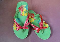 How to Create Decorative Flip Flops