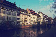 Medieval Waters, Strasbourg, Alsace, France
