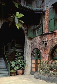 The Brulatour House and Courtyard, built in will be the future home to a museum on the history of the French Quarter, WWL reports. The Historic New Orleans Collection owns the building on. New Orleans Homes, New Orleans Louisiana, New Orleans Decor, The Places Youll Go, Places To Go, New Orleans French Quarter, Patio Interior, Stairway, Porches