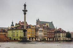 Plaza del castillo. Varsovia. 4122 by S@nlorenzo, via Flickr
