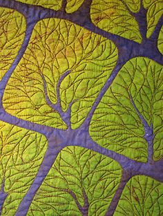 Fiber art. By Betty Busby. On her website you can see more beautiful work of…