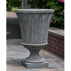Campania International Cast Stone Las Palmas Urn