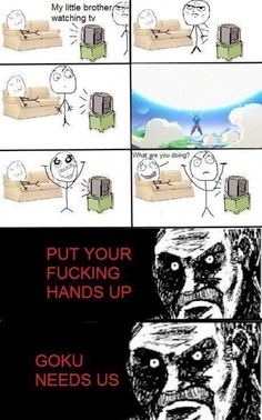 Dragon ball z funny memes - Google Search