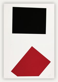 Equilibrium of Form and Space – Prints and Collages by Leon Polk Smith