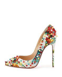 ac2870da7a5 Women's Christian Louboutin Choca Criss Sandal   shoes   Christian ...