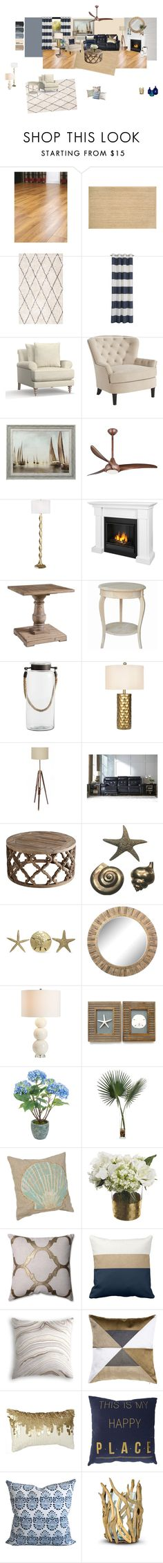 Marcia's Livingroom 3 by haley-freymiller on Polyvore featuring interior, interiors, interior design, home, home decor, interior decorating, Signature Design by Ashley, Pottery Barn, Pier 1 Imports and Pacific Coast