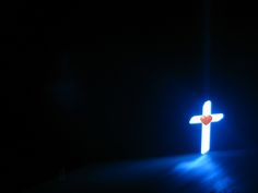 Like the stark contrast of the bright cross against a dark background blue-cross-on-at-a-church-backgrounds-wallpapers. Cross Wallpaper, Jesus Wallpaper, Cheap Wallpaper, Hd Wallpaper, Scripture Wallpaper, Christian Background Images, Christian Backgrounds, Cross Background, Ipad Background
