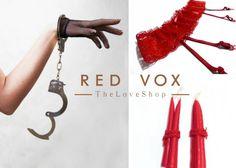 SEX SHOP RED VOX: Regalo San Valentín Kit BDSM Bondage Juguetes Eróticos Sexuales Liguero + Esposas + Plug Anal +Pinzas Pezón - ¡Disponible en Kichink!