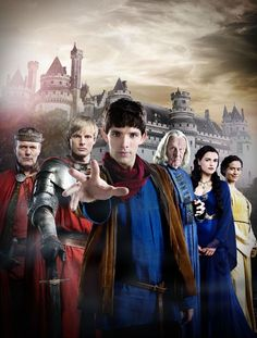 The Adventures of Merlin. About a wizzard who has to hide his power from King Arthur. But he is always saving King Arthur with his magic and the king thinks it just his luck. Haha