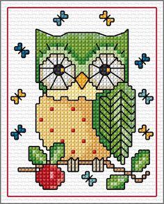 Owl - Pinned by Helen Weber Pinned by Helen Weber Pinned by Helen Weber Welcome to our website, We hope y - Cross Stitch Owl, Cross Stitch Bookmarks, Cross Stitch Cards, Cross Stitch Borders, Cross Stitch Samplers, Cross Stitch Animals, Cross Stitch Designs, Cross Stitching, Cross Stitch Embroidery
