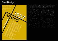 Typeface page 5 (final design)