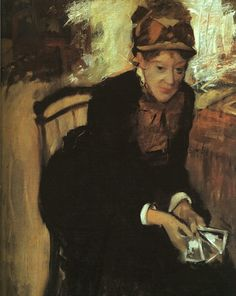 """From the moment the American Mary Cassatt (1844-1926) made her debut in 1879 with the group of artists known as the Impressionists*, her name has been linked with that of the Frenchman Edgar Degas (1834-1917).  Cassatt stated that her first encounter with Degas's art """"changed my life,"""" while Degas, upon seeing Cassatt's art for the first time, reputedly remarked, """"there is someone who feels as I do""""."""