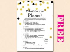 free-bridal-shower-game-whats-in-your-phone