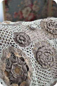 """crochet... taking the  """"granny square"""" to a whole new level.....3>"""