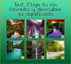DE TODO UN POCO: TEST DEL RÍO. Belle Photo, Feng Shui, Reiki, Psychology, Feelings, Zen, Nirvana, Random, Memes