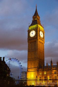 Big Ben, London. Someday I will see him up close!