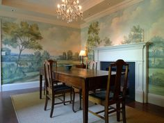 Susan harter murals are available at the walnut wallpaper showroom in