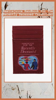 0986494379ef Beetlejuice Handbook For The Recently Deceased Cardholder - BoxLunch  Exclusive