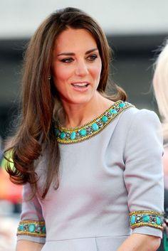 Kate wears Matthew Williamson's dress