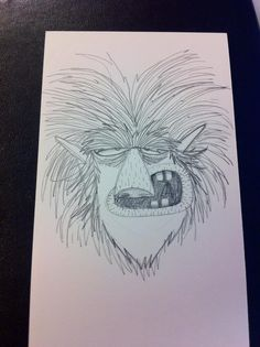 Monsta #sketch #darw #monster #illustration