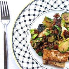 Maple Caramelized Tofu with Brussel Sprouts - [Photo & Recipe credit ...