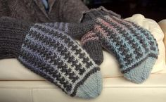 Shimmer Mittens - Knitting Patterns and Crochet Patterns from KnitPicks.com