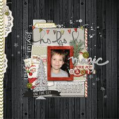 Santa joy - created using products from DesignerDigitals.com