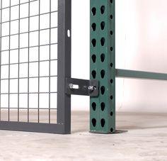 RackBack® Pallet Rack Guarding Safety Panels & Pallet Rack Netting Alternative   WireCrafters