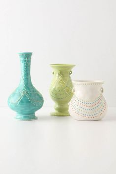 Anthropologie vases - perfect for spring / summer / anytime at all really.....