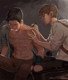 I love the Way the artist drew them.