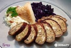 Liba nyak töltve Meat Recipes, Cooking Recipes, Poultry, Baked Potato, Mashed Potatoes, Food And Drink, Dinner, Breakfast, Ethnic Recipes
