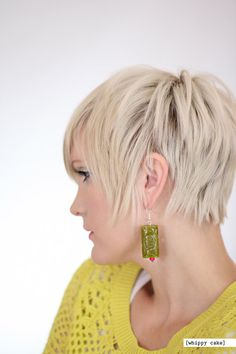 Midori Earrings by whippycake on Etsy, $15.00
