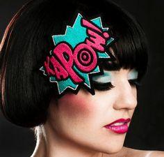 comic book headband!