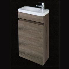 The Slimline Floor Standing Cabinet from the Manhattan range by RAK Ceramics comes complete with the Resort Basin. This unit sits flush to the wall and floor, and has a slim profile which is great for smaller bathrooms. The basin is pre-drilled with 1 tap hole on the right hand side. This basin needs to be used with a mono basin mixer basin tap and waste, which are not included. Also available in a gloss white finish. Specifications:Height: 820mm,Width: 430mm,Depth: 210mm
