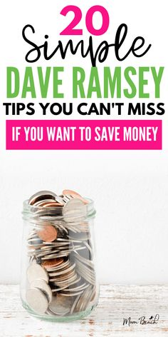 Do you want to save more money to pay off debt? Then, check out these amazing Dave Ramsey tips on saving money, paying off debt and more! Save Money On Groceries, Ways To Save Money, How To Get Money, Money Tips, Money Saving Tips, Saving Ideas, Dave Ramsey Debt Snowball, Dave Ramsey Financial Peace, Saving For College