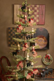 Prim Christmas Tree...2004 Ragon House Collection:www.ragonhouse.com.