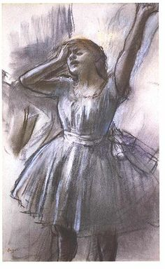 Degas-Dancer.......'He said, the last run through for the last 5 times'