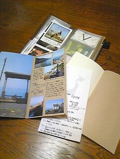 Midori Traveler's Notebook.  Love the Kraft...
