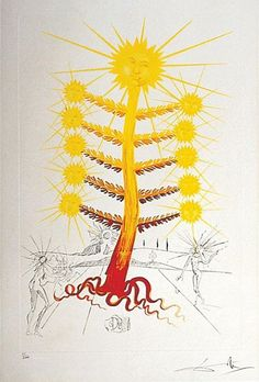 Helianthus Solifer by Salvador Dali