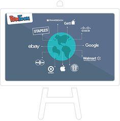 Powtoon is een ander leuk alternatief voor Powerpoint. Je kan er  filmpjes mee maken of presentaties. De elementen die je toevoegt aan je filmpje zijn geanimeerd, waardoor je presentatie dynamischer wordt.