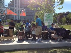 Free Rhythm and Dance workshop as part of 100in1Day Toronto Festival.