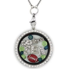 Perfect Locket For Seattle Football Fans! Not Sold In Stores. Get 70% OFF + FREE Shipping Today! Material: Stainless Steel Locket and Chain Locket Size: 30 mm Chain Size 30 Inch **All Charms In Pictur