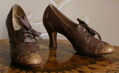 Abiti Antichi- scarpe 1909